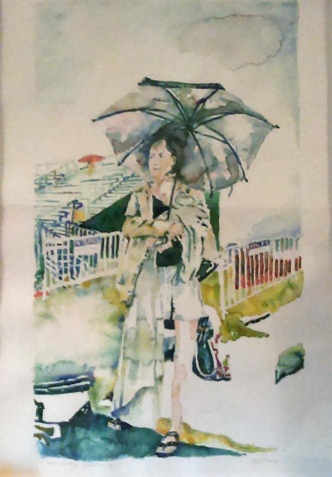 Jazz Fest Watercolor