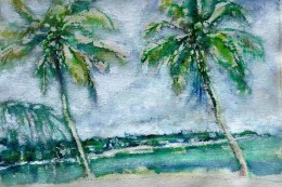 j. 31 - Dueling Palms