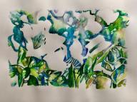 Avril's blanc fluers